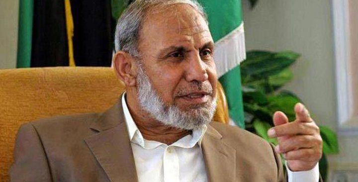 الزهار: حماس مستعدة لعقد صفقة جديدة لتبادل الاسرى