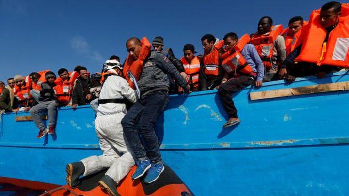 عمليات انقاذ مكثفة للمهاجرين في المتوسط