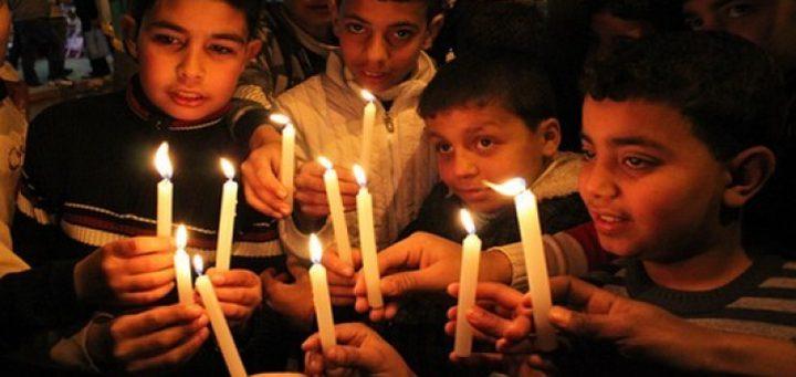 بيت لحم: اضاءة شموع الحرية تضامناً مع الاسرى