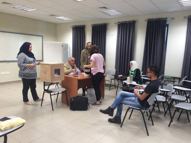 بدء انتخابات مجلس طلبة جامعة النجاح