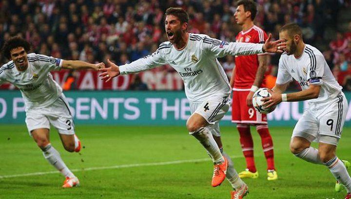 مهمة صعبة لبايرن ميونخ أمام ريال مدريد