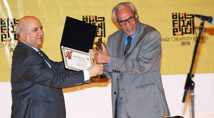 توزيع جائزة الابداع العراقية لعام 2016 على الفائزين