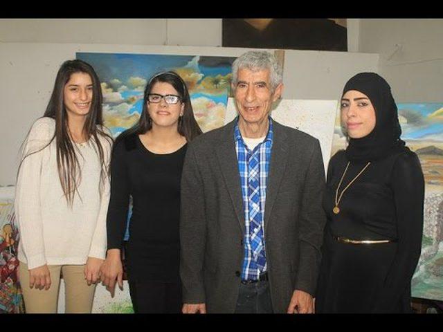 تجسيد رواية نكبة فلسطين بـ 700 لوحة