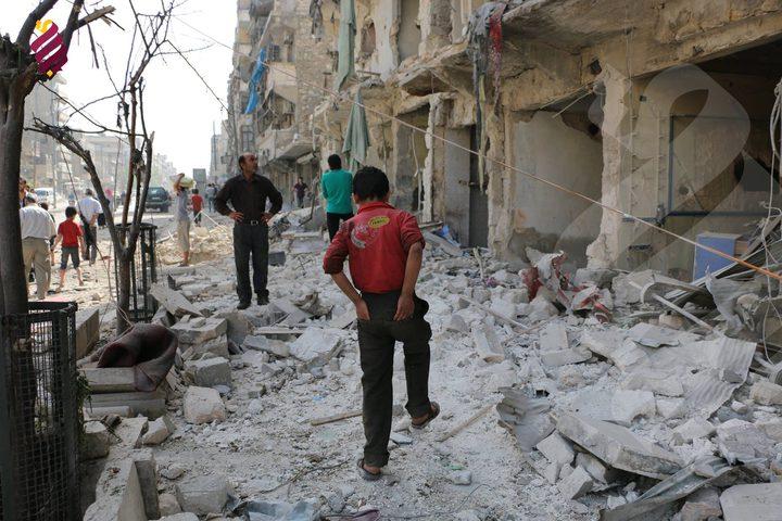 مقتل خمسة اشخاص وجرح اخرين بقصف روسي في حلب