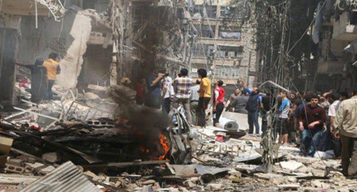 مقتل ستة أشخاص بانفجار  عبوة في مدينة حلب