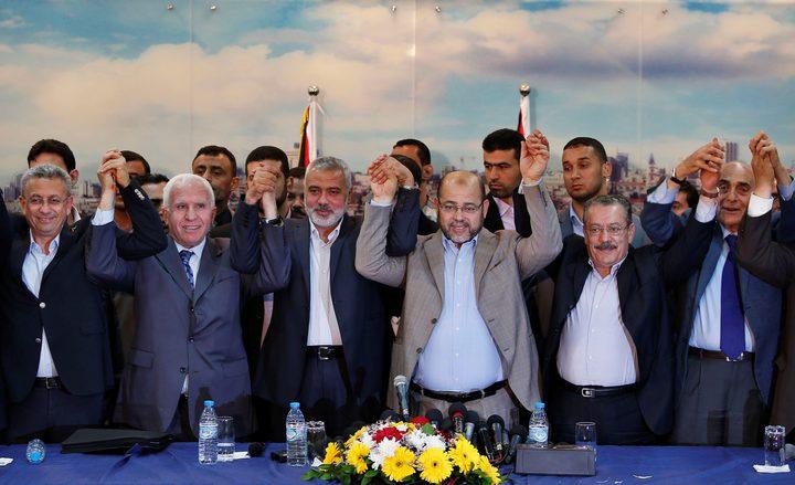 الوقت يسابق المصالحة ... اجتماع رباعي سري للفصائل بغزة