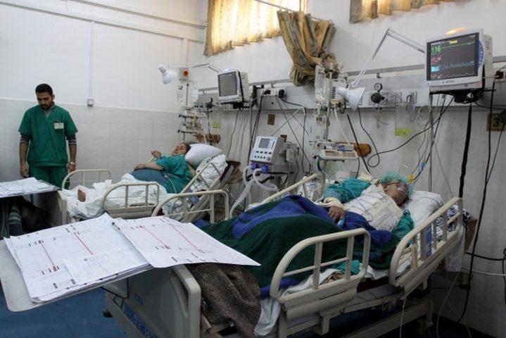 الصحة: مشافي غزة دخلت بمرحلة حرجة