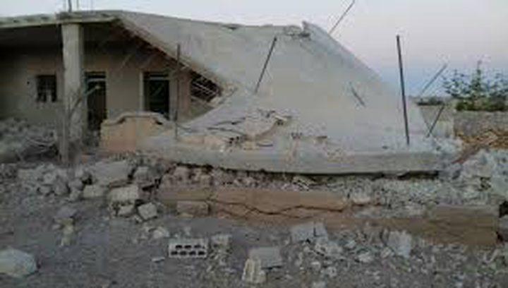 قصف روسي لريف حماة وإصابة ثلاثة مدنيين بدمشق