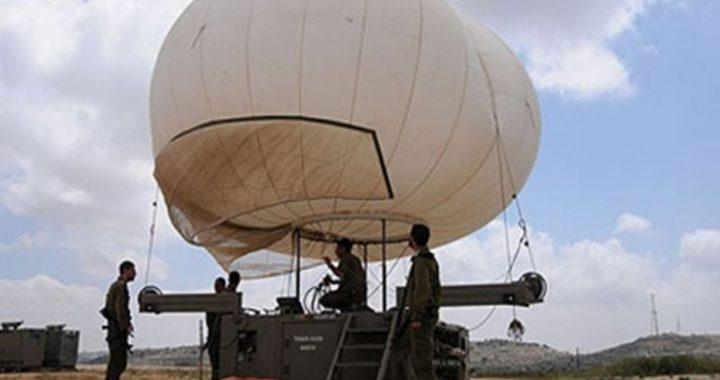 الاحتلال ينصب منطاد مراقبة على حاجز زعترة