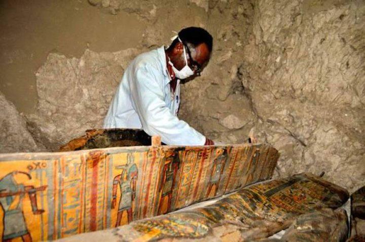 الاثار المصرية تكتشف قبر قاضي الفراعنة