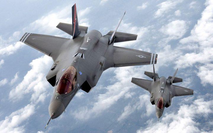 ثلاث طائرات F-35 في طريقها إلى إسرائيل