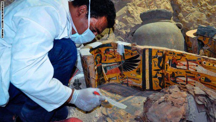 وزارة الآثار المصرية تكتشف 8 مومياوات