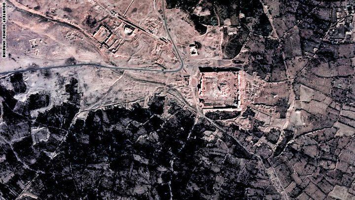 صور فضائية تظهر مواقع التراث العالمي المهددة عربياً