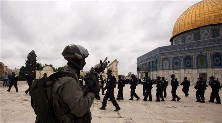 اضراب الأسرى عنوان خطبة الجمعة في القدس