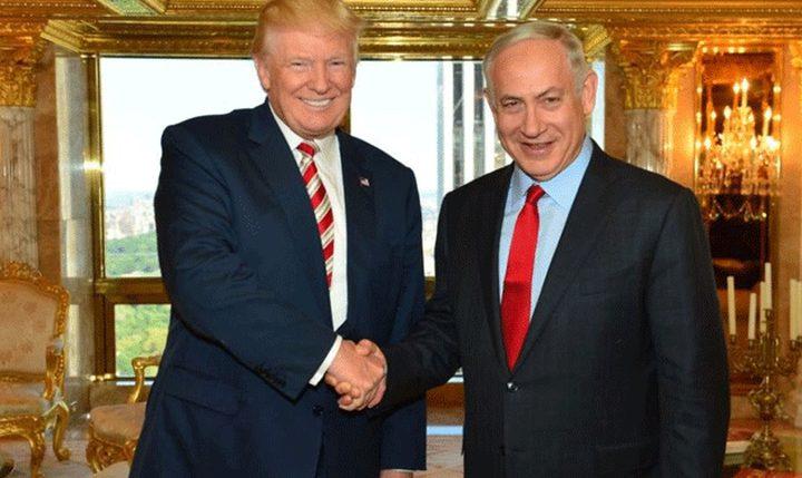 نتنياهو يغازل ترامب ويصفه بافضل صديق
