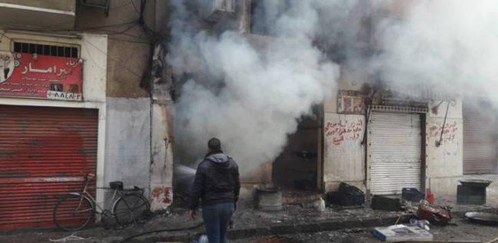 إصابة شاب جراء انفجار اسطوانة غاز في دير البلح