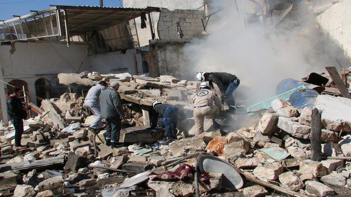 قتلى مدنيون في قصف للتحالف على ريف الرقة