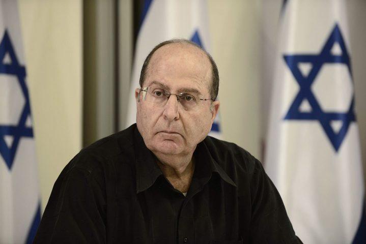 يعلون يطالب نتنياهو بالاستقالة ويهاجم ليبرمان