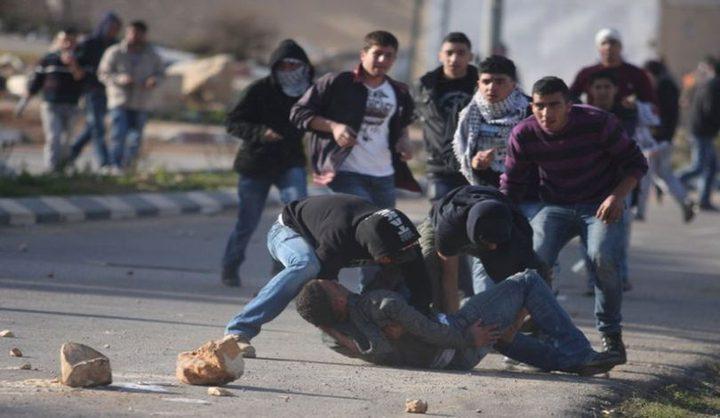 رام الله: ثلاثة اصابات احداها خطيرة