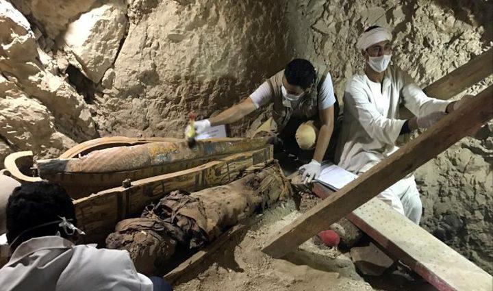إكتشاف مقبرة لقاضي فرعوني