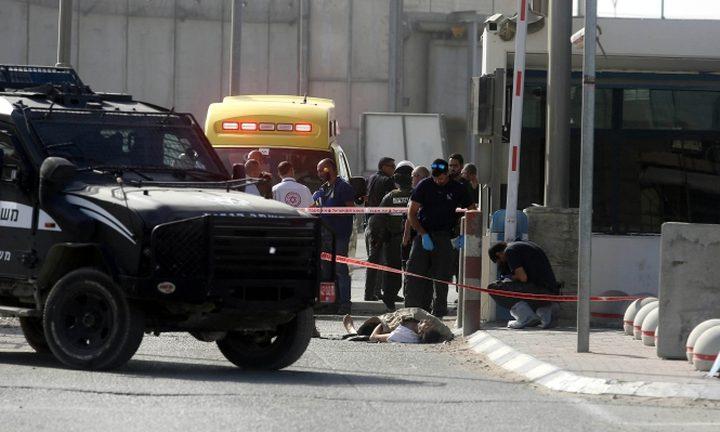 إعتقال فلسطينية بزعم تنفيذ عملية طعن في قلنديا