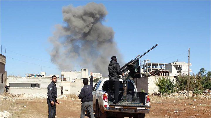 هجوم للمعارضة المسلحة بريف حمص ومعارك شرق دمشق