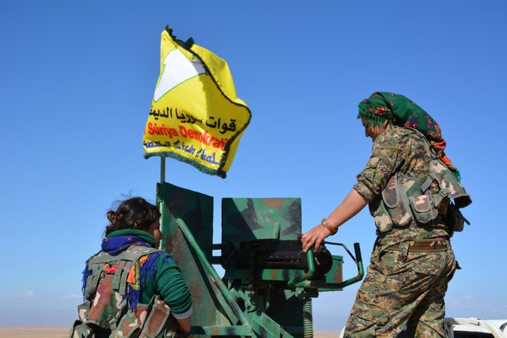 للمرة الاولى... سوريا الديمقراطية تدخل الطبقة