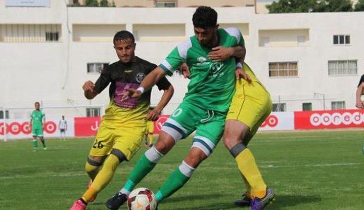 مباريات ربع نهائي كأس فلسطين لأندية القطاع