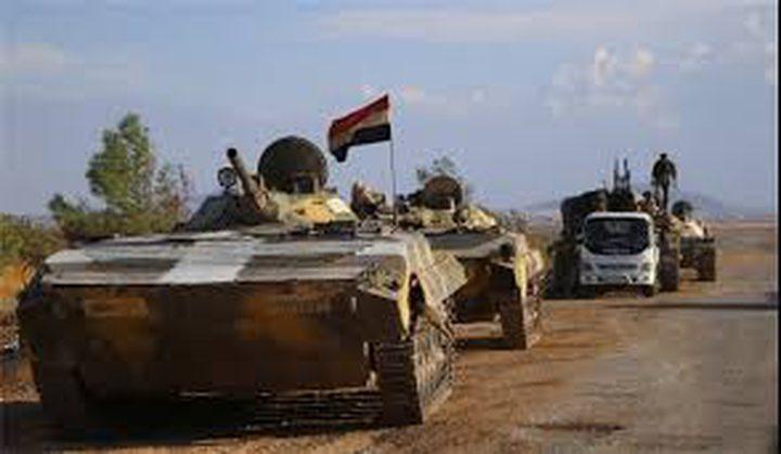 الجيش السوري يسيطر على مساحات واسفة بريف حماة
