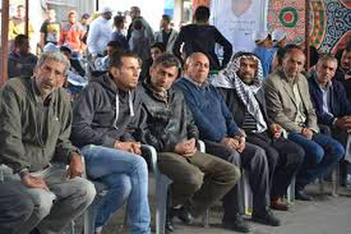 بيت ساحور: اقامة خيمة تضامن مع الاسرى