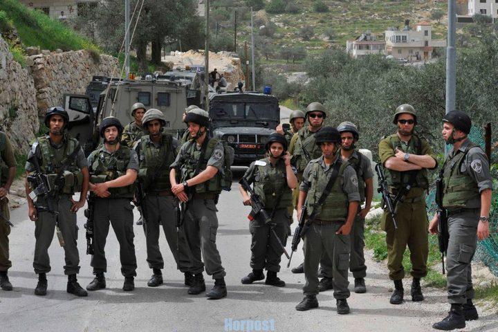 تعزيز الموقع العسكري على مدخل بلدة تقوع