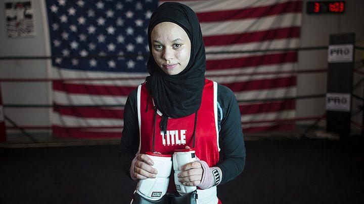 الملاكمة أمية تحصل على حق ارتداء الحجاب في الحلبة