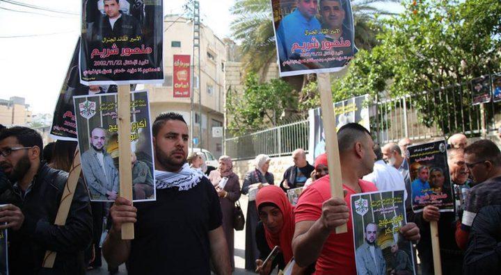 نقابة الصحفيين تقر سلسلة خطوات لدعم اضراب الأسرى