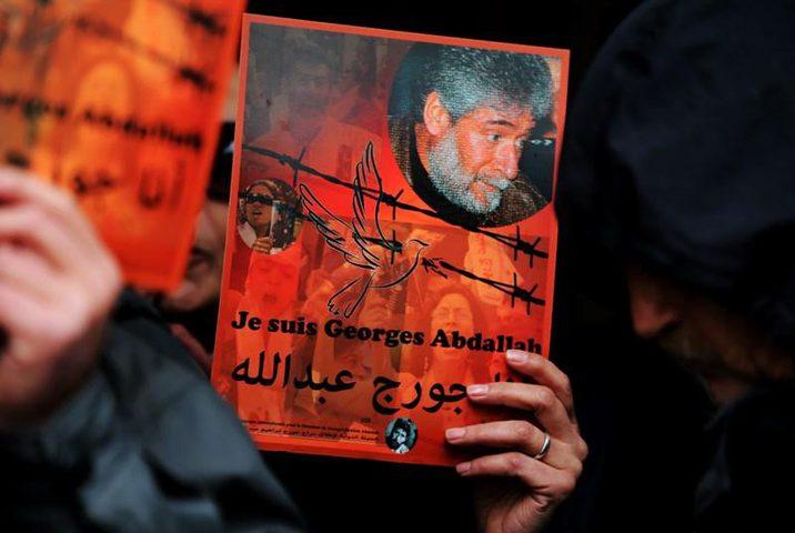 """جورج عبد الله يقود اضرابا """"أمميا"""" تضامنا مع الأسرى الفلسطينيين"""