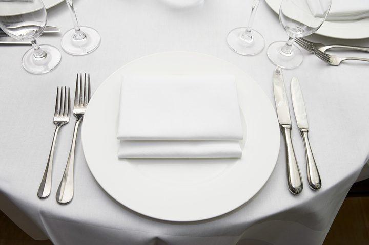 أغطية المائدة في المطاعم تشكل تهديدا للجهاز الهضمي