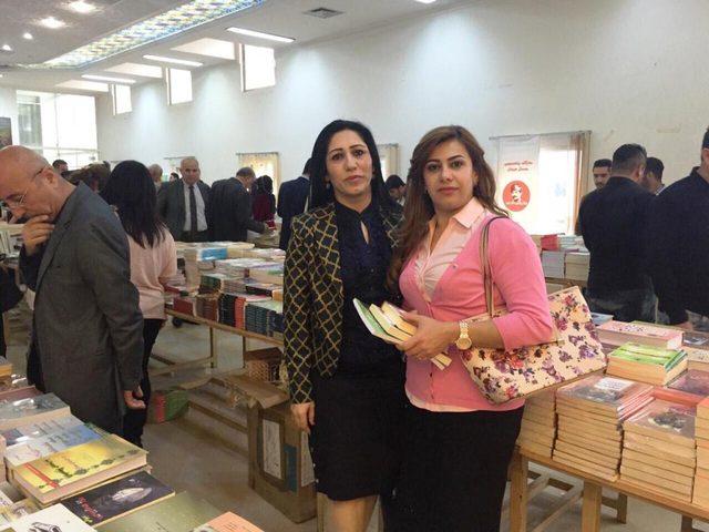 إفتتاح معرض كتب في السليمانية في العراق