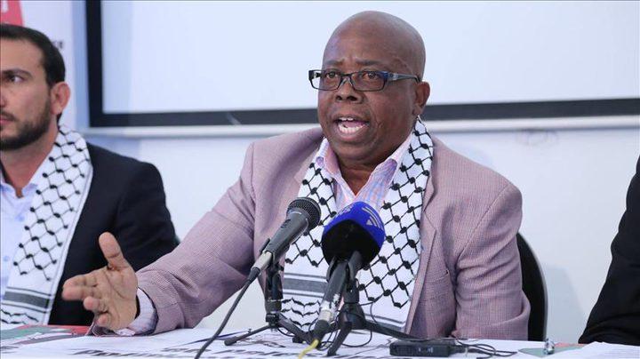 فعاليات جنوب افريقيا تنضم لإضراب الأسرى