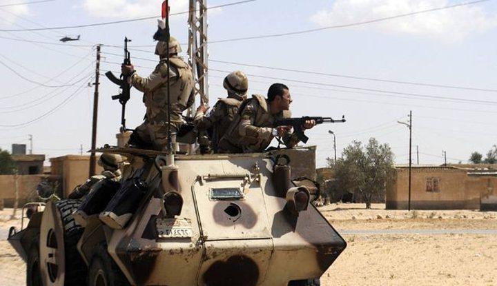 اشتباكات  بين الجيش المصري ومسلحين في سيناء