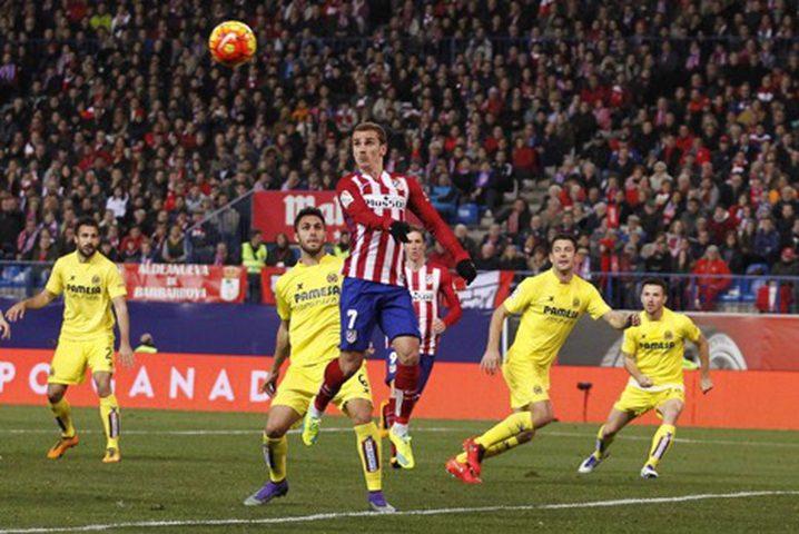 أتلتيكو مدريد يخسر على ملعبه أمام فياريال