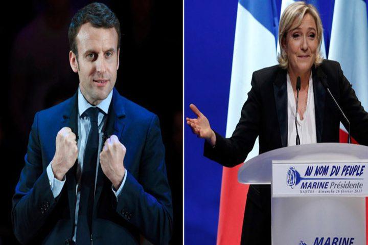 احتدام السباق الانتخابي بين ماكرون ولوبان بفرنسا