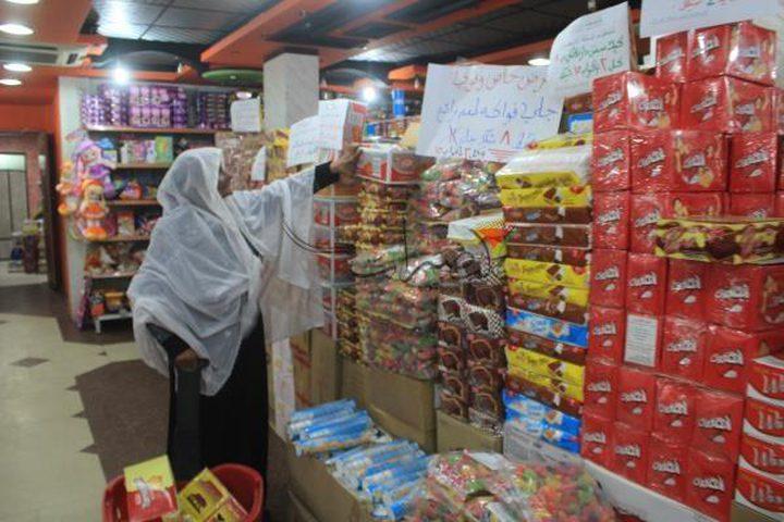اتلاف بضائع مستوطنات بـ 62 مليون شيقل