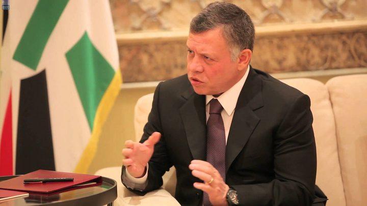 العاهل الأردني يؤكد استمراره بالدفاع في العمق السوري