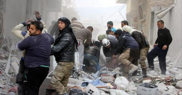 مقتل 19 شخصا في قصف جوي على ريف إدلب