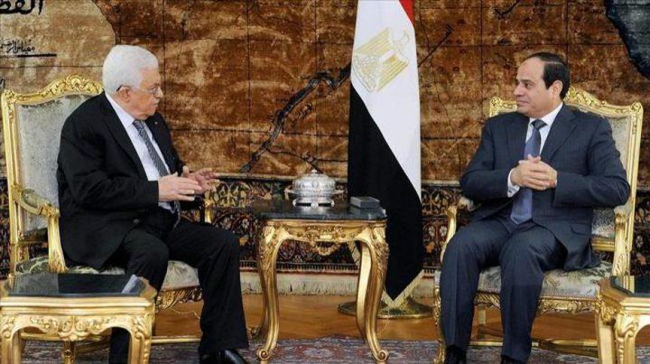 السبت المقبل قمة فلسطينة مصرية