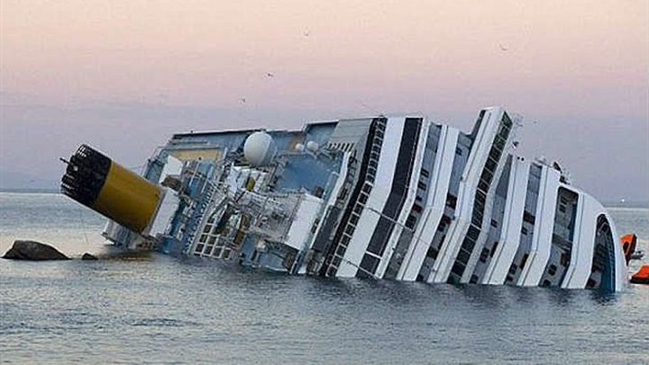 غرق سفينة حربية روسية قرب البسفور