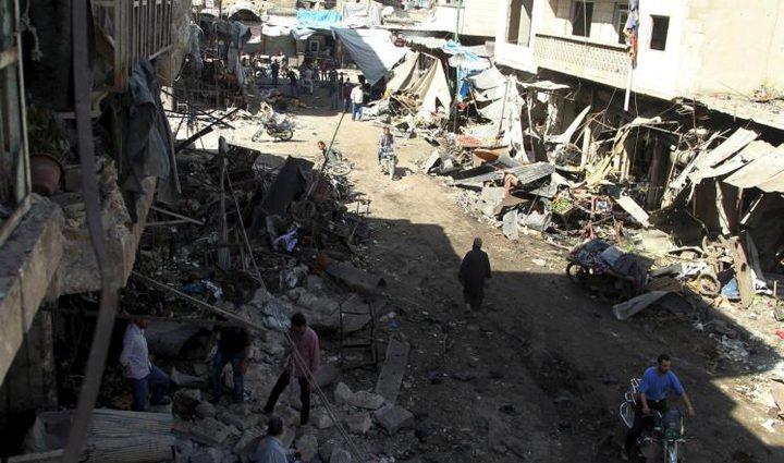 سوريا: عشرات القتلى والجرحى بقصف روسي
