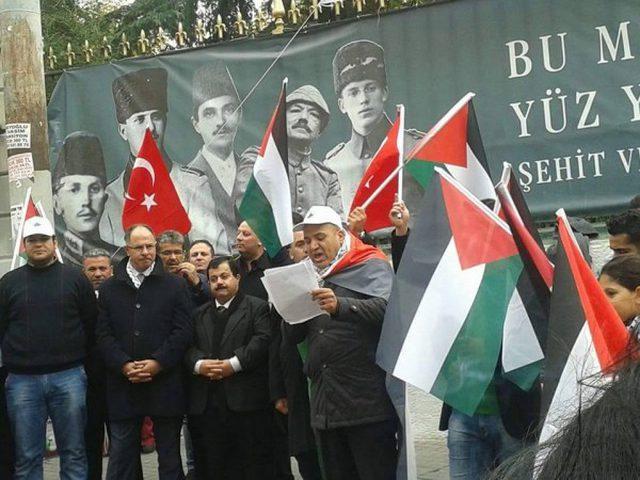 وقفة تضامنية مع الاسرى بتركيا