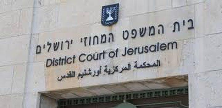 الحكم بالسجن 34 شهراً على الاسير  أبو خضير