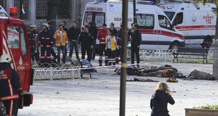 قتلى ومصابون في انفجار حافلة بتركيا