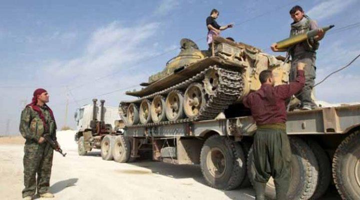 اشتباكات بين الجيش التركي ووحدات حماية الشعب الكردية